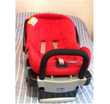 Cadeira para Auto Chicco com base Key Fit - Sem faixa etaria - Chicco