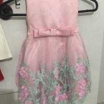 Vestido de festa - 12 a 18 meses - Importada