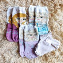 Kit de meias Frozen - Disney - Tam. 5 anos - 4 anos - Disney