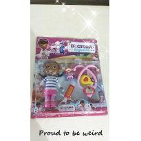 Boneca Dra brinquedo - Sem faixa etaria - Não informada