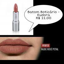 Batom Eudora Rose - Sem faixa etaria - Eudora