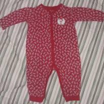 Macacão  Vermelho escuro da Tilly Baby - 3 a 6 meses - Tilly Baby