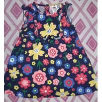 Vestido florido com calçinha (Marca Importada) - 6 a 9 meses - Child of Mine