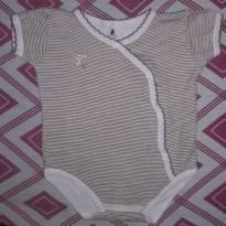 Body listrinha - 6 a 9 meses - Baby Club