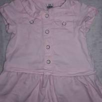 Vestido Jeans Zara Baby 9 a 12 meses - 9 a 12 meses - Zara Baby