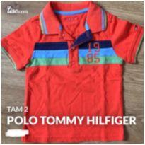Camiseta polo tommy - 2 anos - Tommy Hilfiger