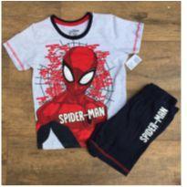 Pijama NOVO homem aranha - 10 anos - Spider Man