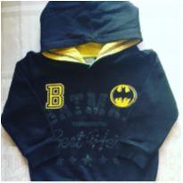 Blusa com capuz Batman - 3 anos - Disney