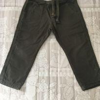 Calça verde - 2 anos - Não informada