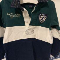 Camisa Polo - 18 meses - Ralph Lauren