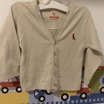 Casaquinho tricô Reserva - 9 a 12 meses - Reserva mini