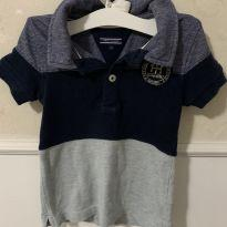 Camisa Polo Tommy - 18 meses - Tommy Hilfiger