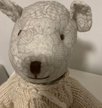 Ursinho decorativo - Sem faixa etaria - Não informada