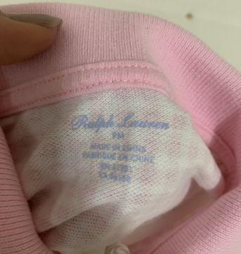 Blusinha Polo Ralph Lauren - 9 meses - Ralph Lauren