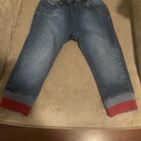 Calça Jeans Paola da Vinci - 9 a 12 meses - Paola Da Vinci