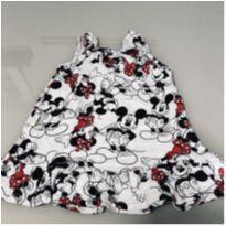 Vestido Disney Baby - Minnie - 6-9 meses - 6 a 9 meses - Disney baby