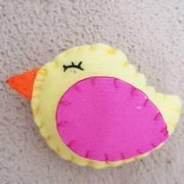 Kit 10 passarinhos feltro -  - Não informada