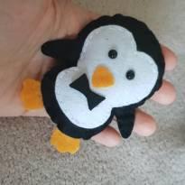 Kit 10 pinguins feltro - Sem faixa etaria - Não informada