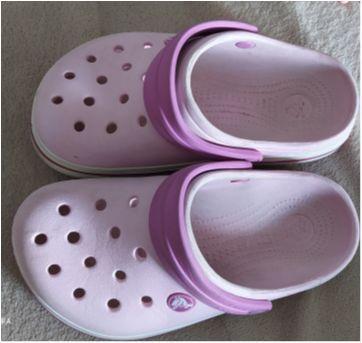 Crocs rosa bebê - 31 - Crocs