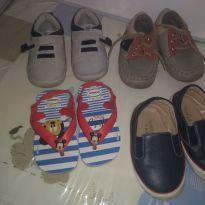 Lotinho sapatos menino - 20 - Havaianas