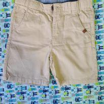 Bermuda em algodão com regulagem na cintura. - 3 anos - Zara Baby