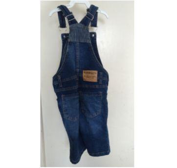 Macacão jeans - 3 anos - Popcorn