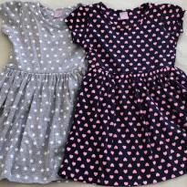 Vestidos Malha - 4 anos - Tricae