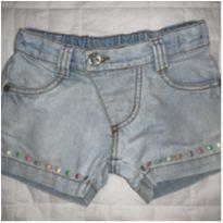 Short Jeans Alphabeto - Tam 1 ano - 1 ano - Alphabeto