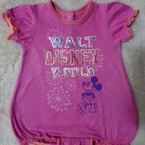 Macacão curto - 3 meses - Disney