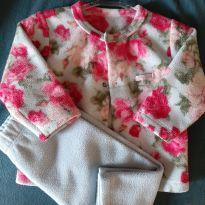 Conjunto fleece - 0 a 3 meses - Grow up