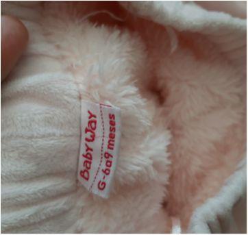 Calça quentinha - 6 meses - Baby Way