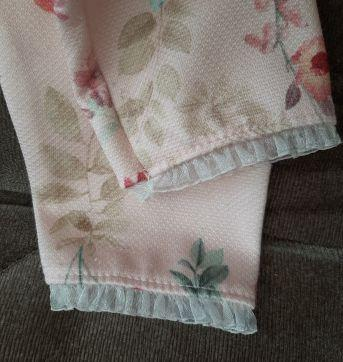 Calca rosa - 3 meses - Sem marca