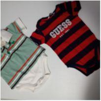 Kit Body P - 3 a 6 meses - Guess