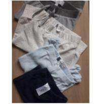 Kit mondado de calças vários tamanhos Ler a descrição - 3 a 6 meses - Baby Club
