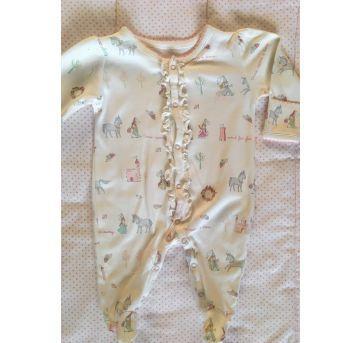 Macacão Baby Cottons - Recém Nascido - Baby Cottons