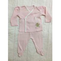 Pijama Baby Cotton - Recém Nascido - Baby Cottons