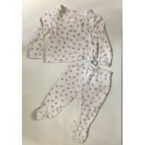 Pijama Baby Gap - 0 a 3 meses - Baby Gap