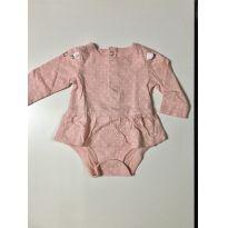 Body vestido Carter's - 3 meses - Carter`s