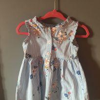 Vestido floral - 6 meses - Carter`s
