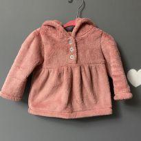 Blusa com capuz fleece - 9 meses - Carter`s
