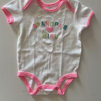 Body Carter's menininha do vovô - 6 meses - Carter`s