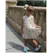 Vestido vintage - 4 anos - Artesanal