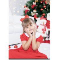 Vestido vintage ótimo para o natal - 6 anos - Artesanal