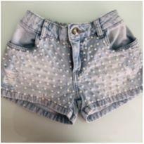 Shorts Jeans - 8 anos - Luluzinha