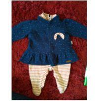 Macacão com casaco moderno - Recém Nascido - Keko Baby