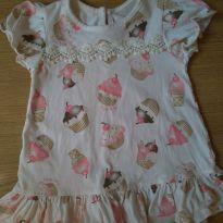 Vestido cupcake - 3 a 6 meses - Anjos baby