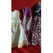 Lote vestidos - 3 a 6 meses - Elian e Fakini