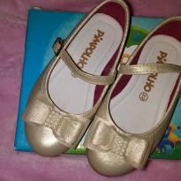 Sapato dourado - 22 - Pimpolho