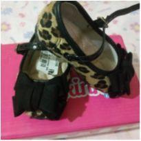 Sapato oncinha - 17 - Molequinha