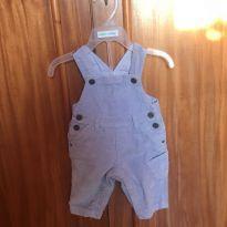 linda jardineira jeans linda da marca chicco - 0 a 3 meses - Chicco